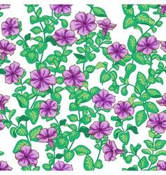Petunia pattern vector