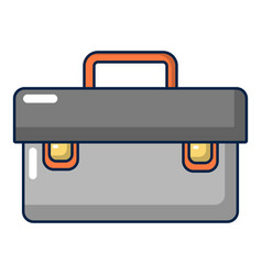 Plumber case icon cartoon style vector