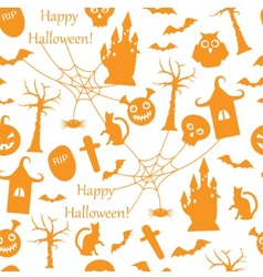 Seamless halloween vector