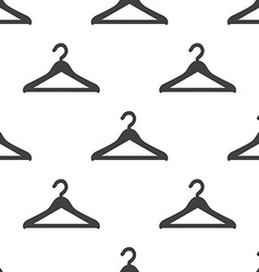 Hanger seamless pattern vector image