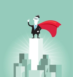 Business leader vector image
