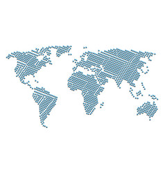 global map pattern of yacht items vector image