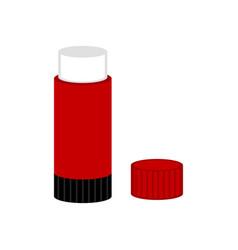 Glue stick icon vector