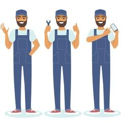 Handyman character set vector