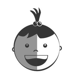 Little kids cartoon graphic design vector image