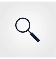 Loupe icon simple vector image
