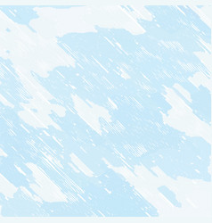 Pale blue stained hatched background vector