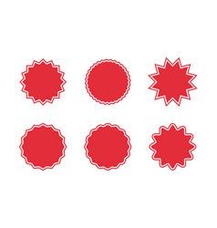 promo sale starburst special offer sale label vector image
