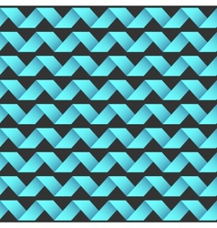 seamless striped waving pattern vector image