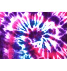 Tie dye spiral shibori colorful watercolour vector