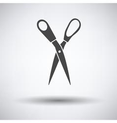 Tailor scissor icon vector image