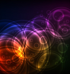 Shiny Circles technology vector image
