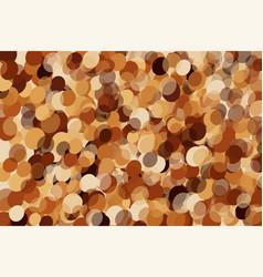 Coffee color drib texture vector