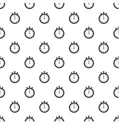 stopwatch pattern seamless vector image