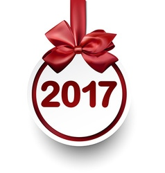 2017 New Year card vector