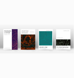 abstract cover modern design template vector image
