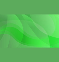 abstract green color technology background vector image