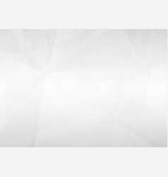 Abstract white perspective geometric background vector