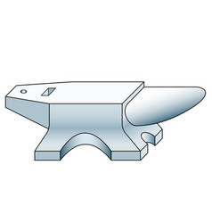 anvil tool icon vector image vector image