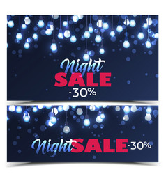banners for sale vector image