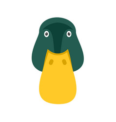 duck face vector image