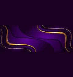Luxury purple background design combined vector