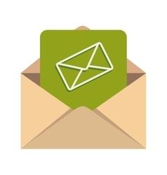 Message inbox mail document vector