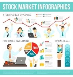 Stock Market Infographics vector