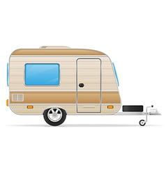 Trailer caravan 01 vector