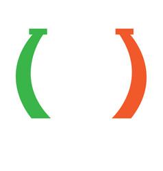 lucky horseshoe vector image