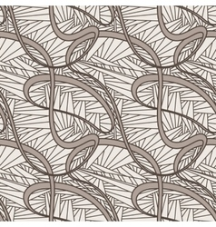 Seamless pattern abstratny of lines of vector image vector image