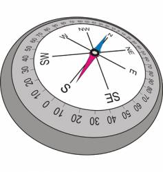 mariner compass vector image vector image
