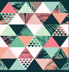 Abstract trendy seamless pattern vector