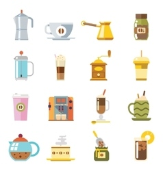 Appliances to Make Coffee Accessories Cup Glass vector