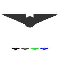 Aviation flat icon vector