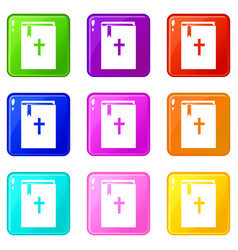 Bible set 9 vector