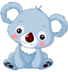 cartoon koala bear vector image
