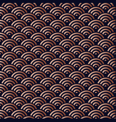chinese copper seamless pattern background vector image