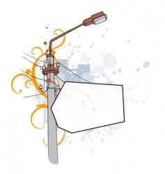 Grunge vignette irregular vector