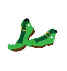 Irish elf shoe vector