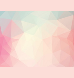 pink geometric background vector image