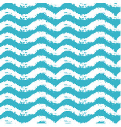 Seamless pattern with waves for summer time theme vector