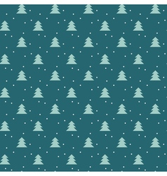 Simple elegant Christmas seamless pattern with vector image