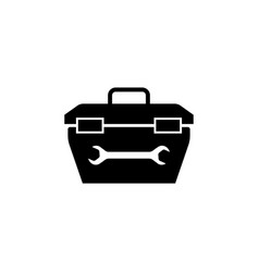 toolbox icon elements of constraction icon vector image