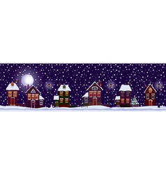 white christmas vector image vector image