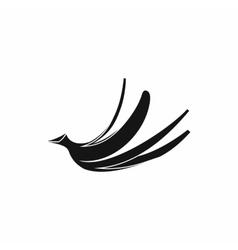 Banana peel icon simple style vector image vector image