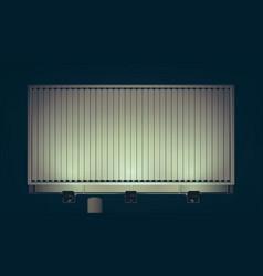commercial business horizontal billboard vector image