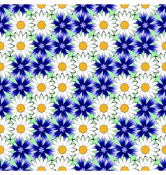 Design seamless colorful floral decorative pattern vector
