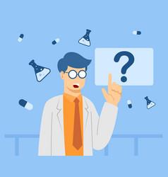 Doctor-presentation vector