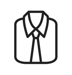 Formal shirt vector